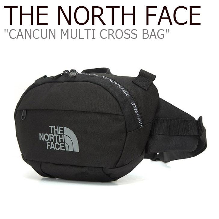ノースフェイス クロスバッグ THE NORTH FACE メンズ レディース CANCUN MULTI CROSS BAG カンクン マルチクロスバッグ BLACK ブラック NN2PL11J バッグ 【中古】未使用品