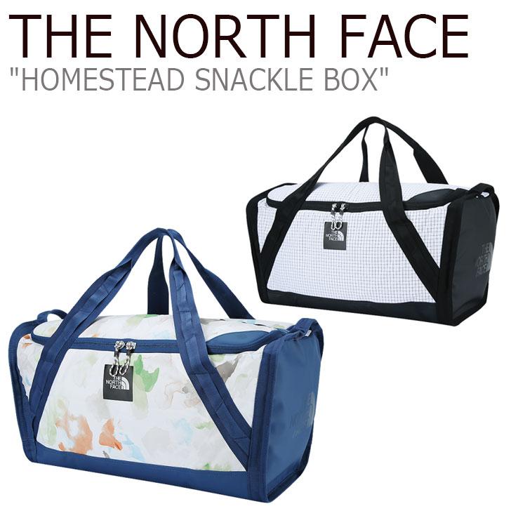 ノースフェイス ボストンバッグ THE NORTH FACE メンズ レディース HOMESTEAD SNACKLE BOX ホームステッド スナックル ボックス WHITE ホワイト NEN2FI15 バッグ 【中古】未使用品