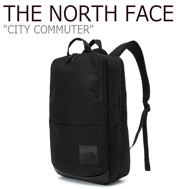 ノースフェイス バックパック THE NORTH FACE メンズ レディース CITY COMMUTER シティ コミューター BLACK ブラック NM2DL01A バッグ 【中古】未使用品