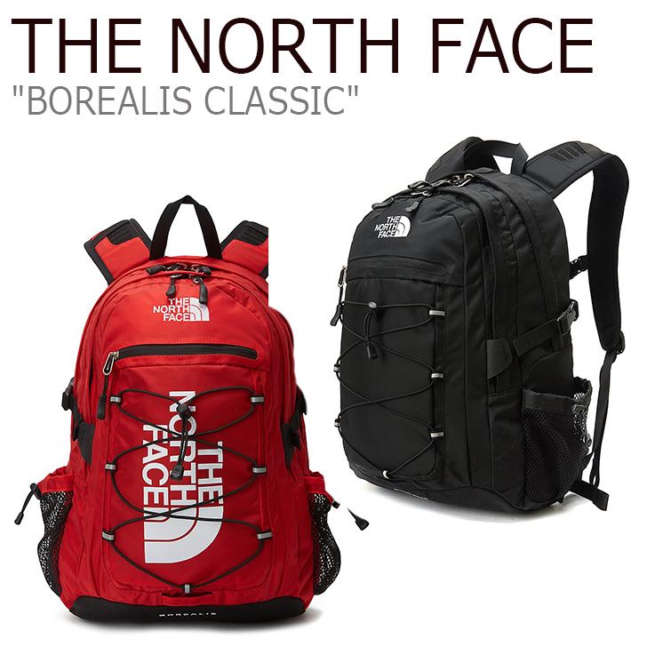 ノースフェイス バックパック THE NORTH FACE メンズ レディース BOREALIS CLASSIC ボレアリス クラシック BLACK ブラック RED レッド NM2DL03A/B バッグ 【中古】未使用品