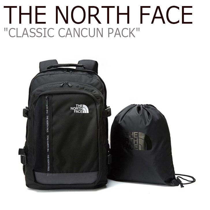 ノースフェイス バックパック THE NORTH FACE メンズ レディース CLASSIC CANCUN PACK クラシック カンクン パック BLACK ブラック NM2DL04J バッグ 【中古】未使用品