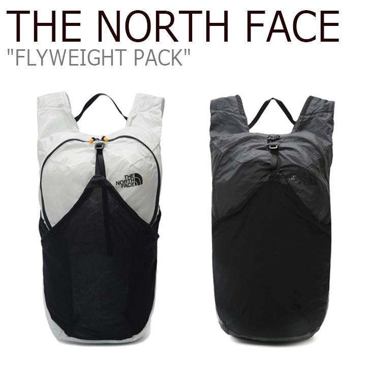ノースフェイス リュック THE NORTH FACE メンズ レディース FLYWEIGHT PACK フライウェイト パック LIGHT GRAY ライト グレー BLACK ブラック NM2SK14A/B バッグ 【中古】未使用品