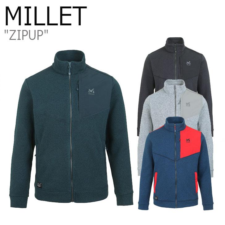 ミレー ジャケット MILLET メンズ ZIPUP トゥアンジャケット GREEN BLUE GREY CINDER グリーン ブルー グレー シンダー MVOWJ402 ウェア