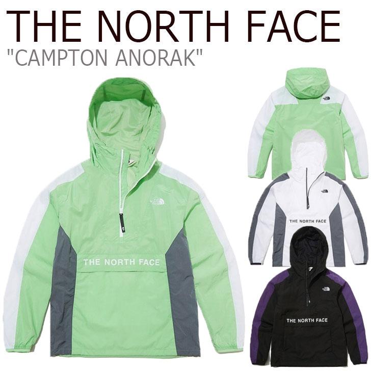 ノースフェイス ジャケット THE NORTH FACE メンズ レディース CAMPTON ANORAK キャンプトン アノラック 全3色 NA4HL03J/K/L ウェア 【中古】未使用品