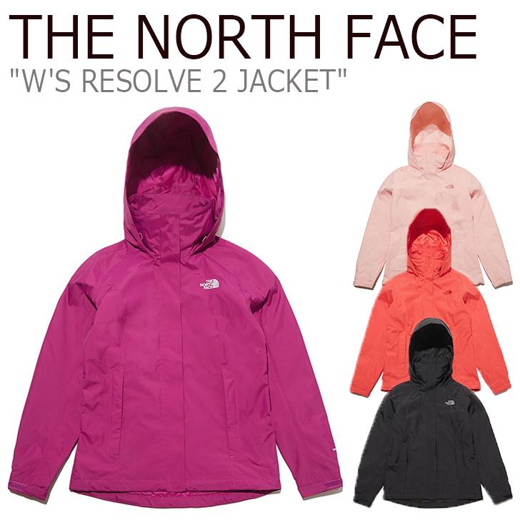 ノースフェイス マウンテンジャケット THE NORTH FACE レディース W'S RESOLVE 2 JACKET リゾルブ ジャケット 全4色 NJ2HL36A/B/C/D ウェア 【中古】未使用品