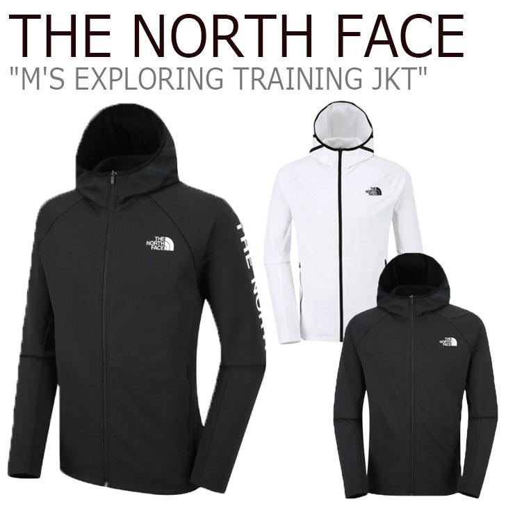 ノースフェイス ジャケット THE NORTH FACE メンズ M'S EXPLORING TRAINING JKT エクスプローリング トレーニングジャケット BLACK ブラック WHITE ホワイト NJ5JJ52A/B ウェア 【中古】未使用品