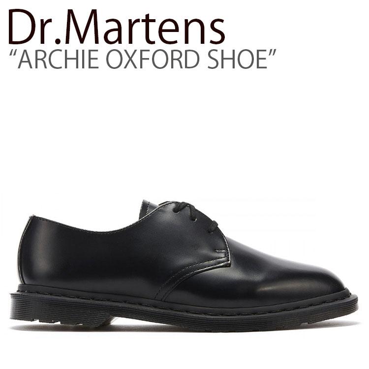 ドクターマーチン スニーカー Dr.Martens メンズ レディース ARCHIE OXFORD SHOE アーチー オックスフォード シュー BLACK ブラック 25009001 シューズ 【中古】未使用品