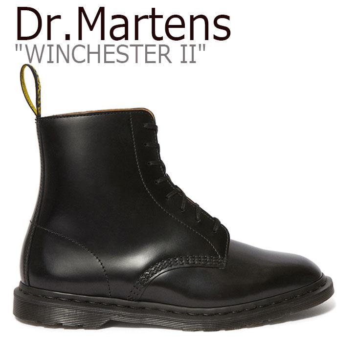 ドクターマーチン スニーカー Dr.Martens メンズ KENSINGTON WINCHESTER II 8EYE BOOT ケンジントン ウィンチェスターII 8ホールブーツ BLACK ブラック 25032001 シューズ 【中古】未使用品