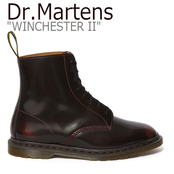 ドクターマーチン スニーカー Dr.Martens メンズ KENSINGTON WINCHESTER II 8EYE BOOT ケンジントン ウィンチェスターII 8ホールブーツ BURGUNDY バーガンディー 25033600 シューズ 【中古】未使用品
