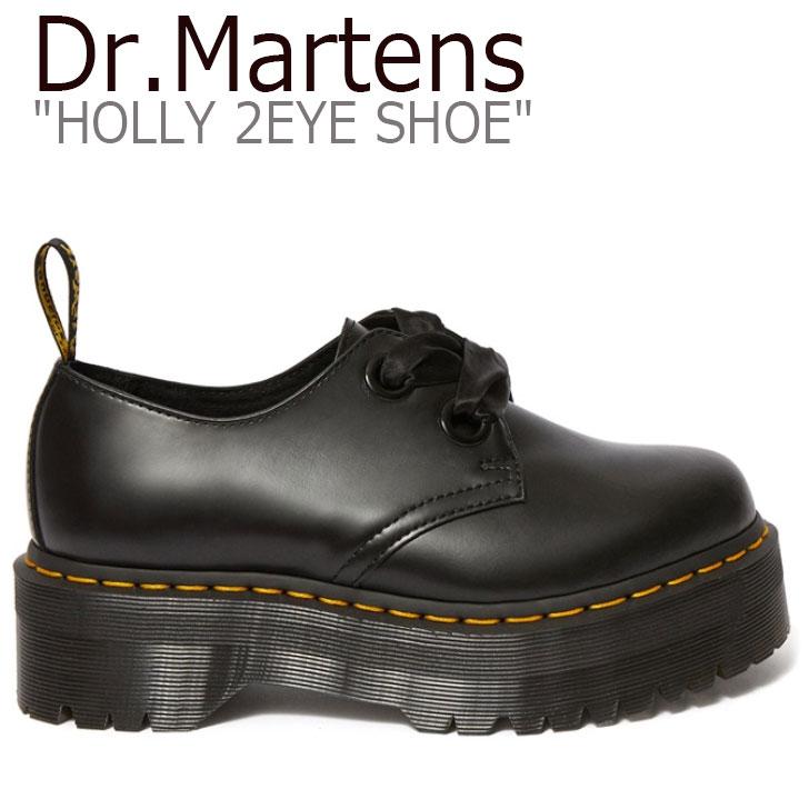 ドクターマーチン スニーカー Dr.Martens レディース HOLLY 2EYE SHOE ホリー 2ホール シューズ BLACK ブラック 25234001 シューズ 【中古】未使用品