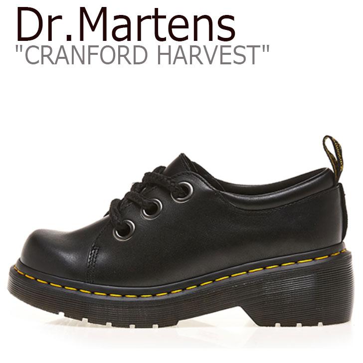 ドクターマーチン スニーカー Dr.Martens メンズ レディース CRANFORD HARVEST クランフォード ハーベスト BLACK ブラック 25288001 シューズ 【中古】未使用品