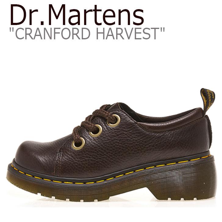 ドクターマーチン スニーカー Dr.Martens メンズ レディース CRANFORD HARVEST クランフォード ハーベスト BROWN ブラウン 25289203 シューズ 【中古】未使用品