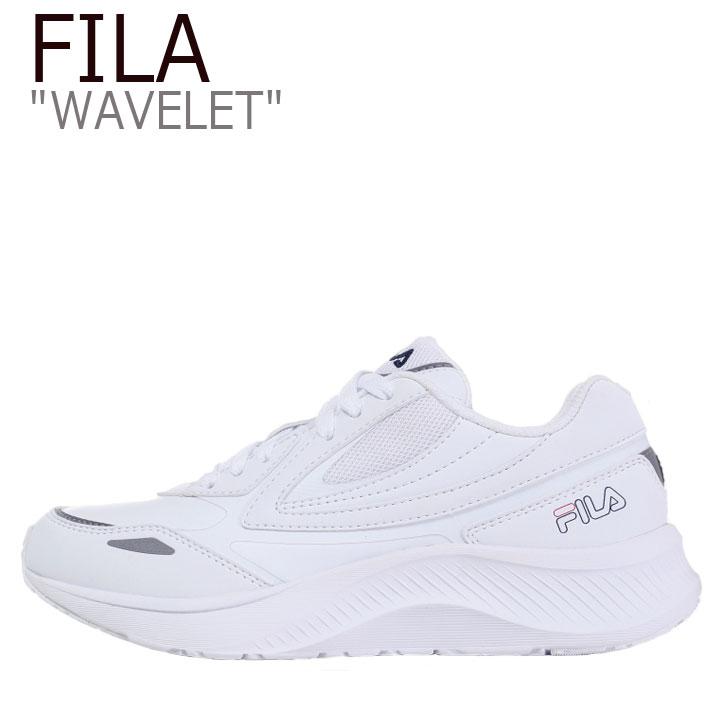 フィラ スニーカー FILA メンズ レディース WAVELET ウェーブレット WHITE ホワイト 1RM01263-100 シューズ