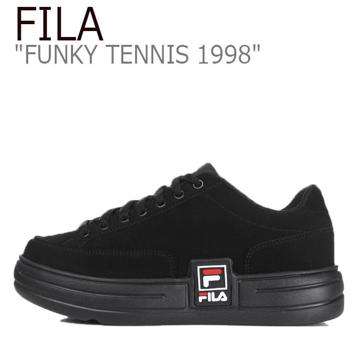 フィラ スニーカー FILA メンズ レディース FUNKY TENNIS 1998 ファンキー テニス 1998 BLACK ブラック 1TM00622-001 シューズ