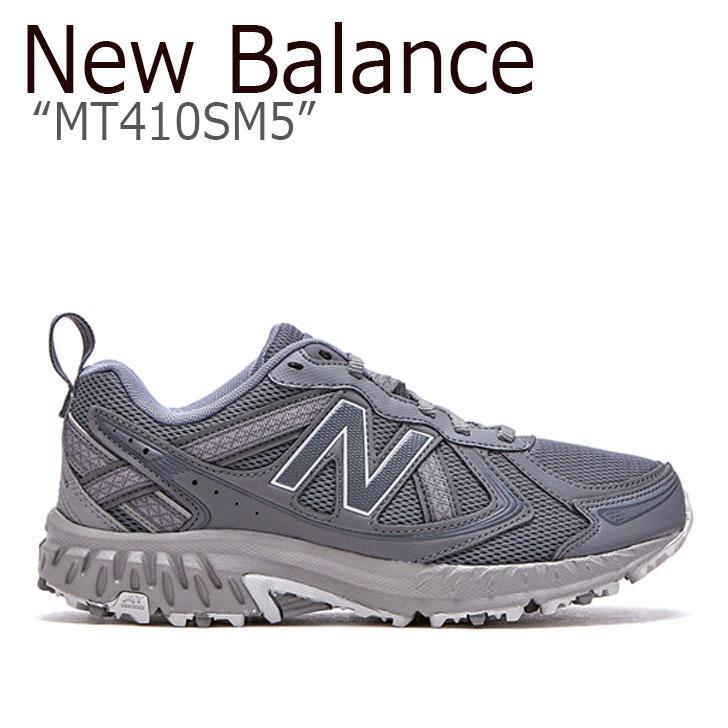 ニューバランス 410 スニーカー New Balance メンズ レディース MT 410 SM5 new balance 410 GREY グレー FLNBAA1U12 NBPFAS199G MT410SM5 シューズ 【中古】未使用品