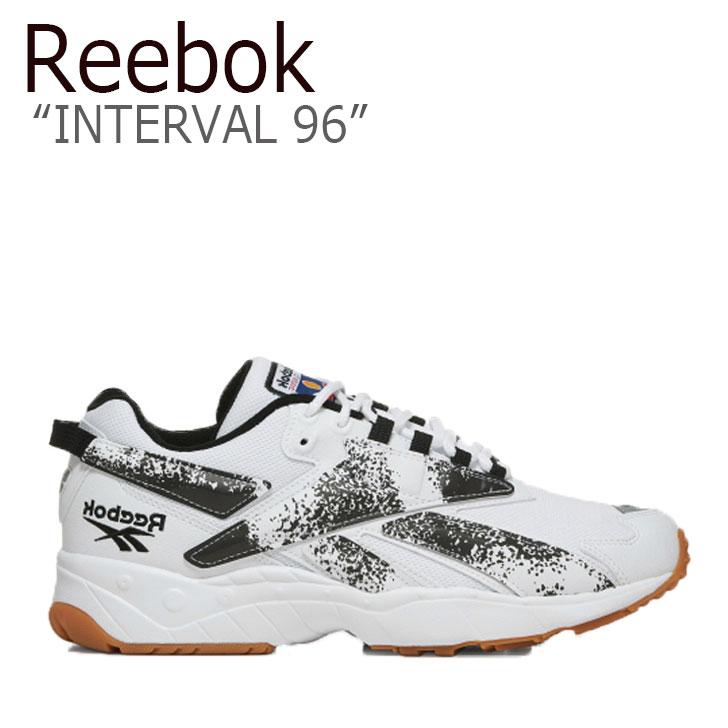 リーボック スニーカー REEBOK メンズ レディース INTERVAL 96 インターバル96 WHITE ホワイト BLACK ブラック FV5471 シューズYgmfyI76bv