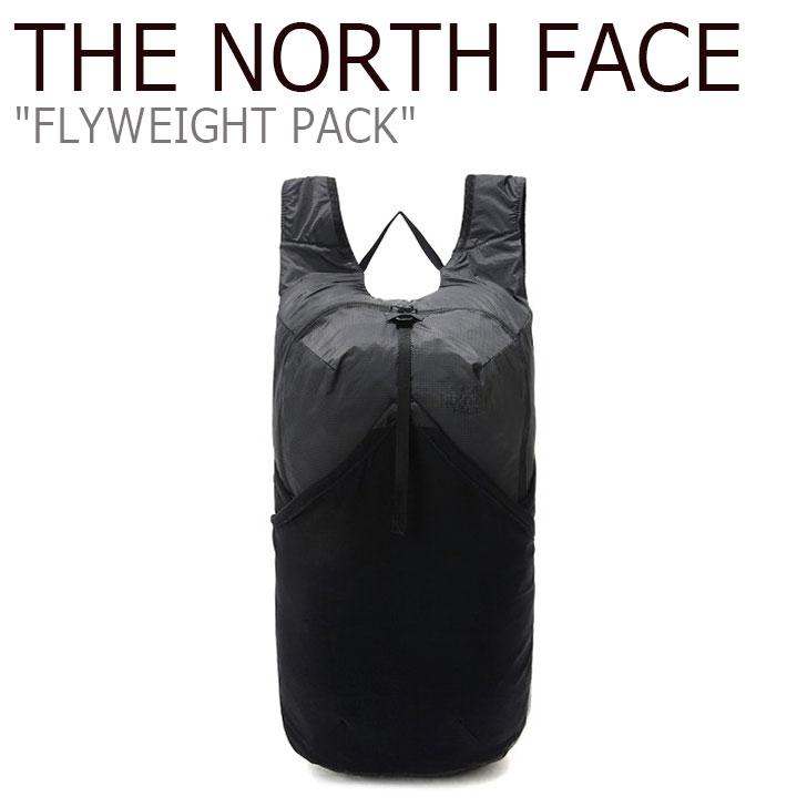 ノースフェイス リュック THE NORTH FACE メンズ レディース FLYWEIGHT PACK フライウェイト パック DARK GRAY ダーク グレー NM2SK62A バッグ 【中古】未使用品