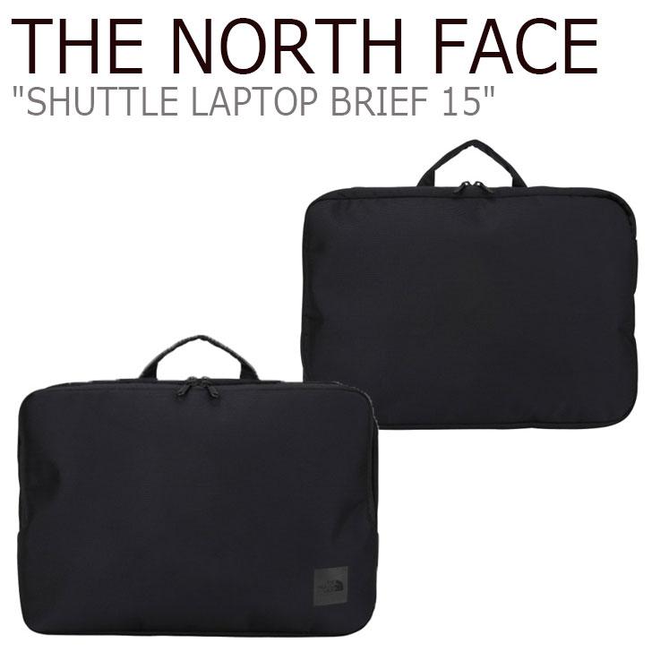 ノースフェイス ビジネスバッグ THE NORTH FACE メンズ レディース SHUTTLE LAPTOP BRIEF 15 シャトル ラップトップ ブリーフ BLACK ブラック NN2PJ42A バッグ 【中古】未使用品