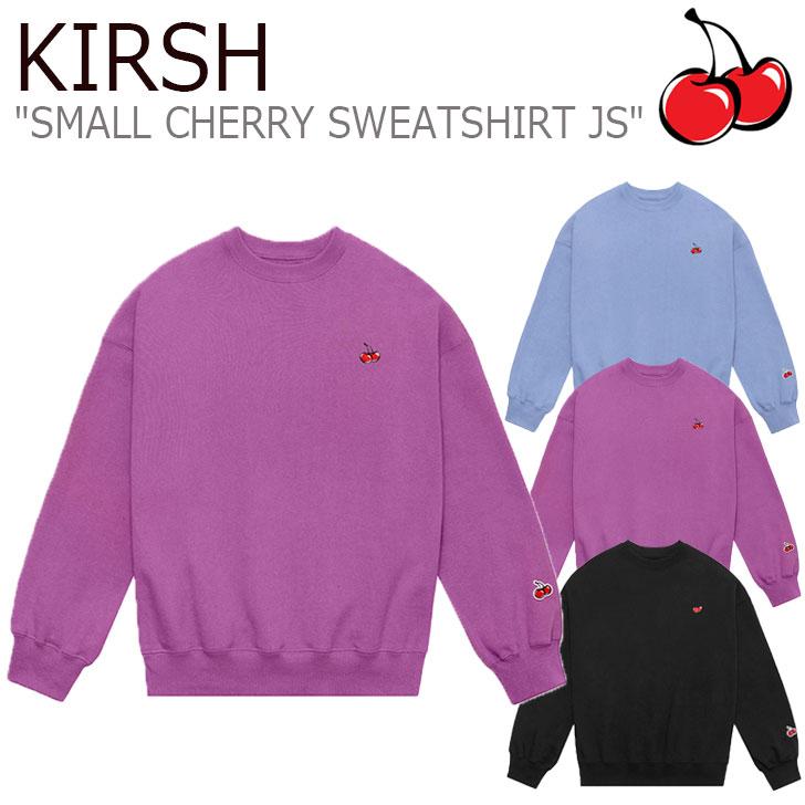 キルシー トレーナー KIRSH メンズ レディース SMALL CHERRY SWEATSHIRT JS スモール チェリー スウェットシャツ 全3色 JSKT26 CNTS0EL28BK/U2/B2 ウェア