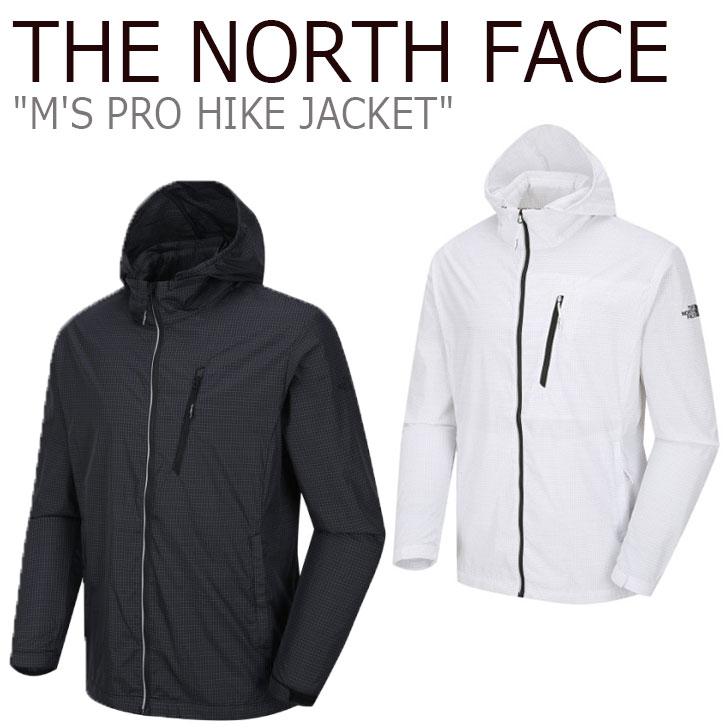 ノースフェイス ジャケット THE NORTH FACE メンズ M'S PRO HIKE JACKET プロ ハイクジャケット BLACK ブラック WHITE ホワイト NJ3BJ04A/B ウェア 【中古】未使用品