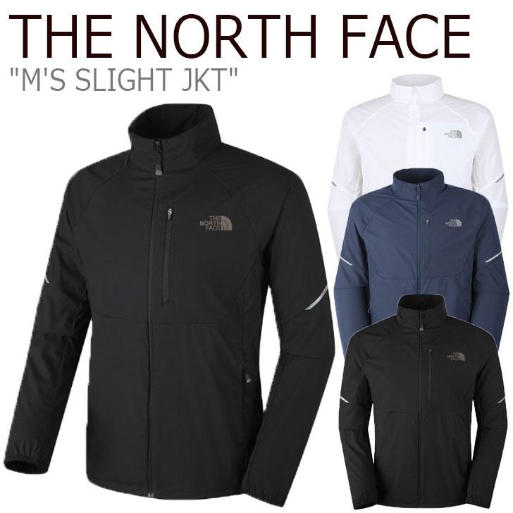ノースフェイス ジャケット THE NORTH FACE メンズ M'S SLIGHT JKT スルーライトジャケット WHITE ホワイト BLACK ブラック INK インク NJ3LK07A/B/C ウェア 【中古】未使用品