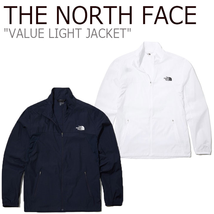 ノースフェイス ジャケット THE NORTH FACE メンズ レディース VALUE LIGHT JACKET バリュー ライトジャケット WHITE ホワイト NAVY ネイビー NJ4HL04J/L ウェア 【中古】未使用品