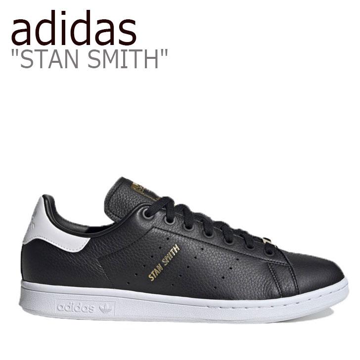 アディダス スタンスミス スニーカー adidas メンズ レディース STAN SMITH スタン スミス BLACK ブラック EH1476 シューズ 【中古】未使用品