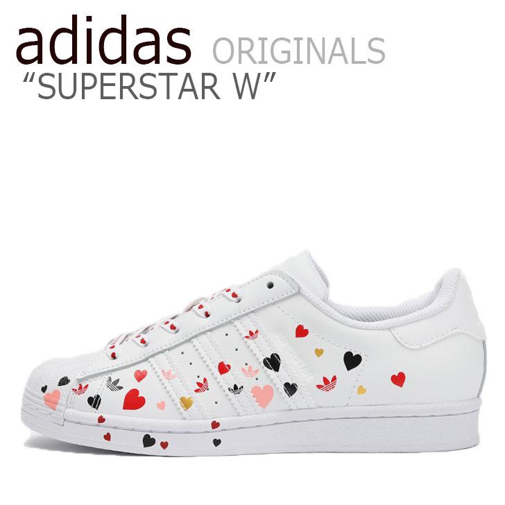 アディダス スーパースター スニーカー adidas レディース SUPERSTAR W スーパースター WHITE ホワイト FV3289 シューズ 【中古】未使用品
