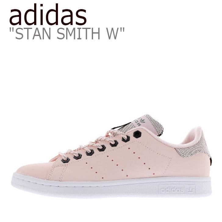 アディダス スタンスミス スニーカー adidas メンズ レディース STAN SMITH W スタン スミス PINK ピンク FV4653 シューズ 【中古】未使用品