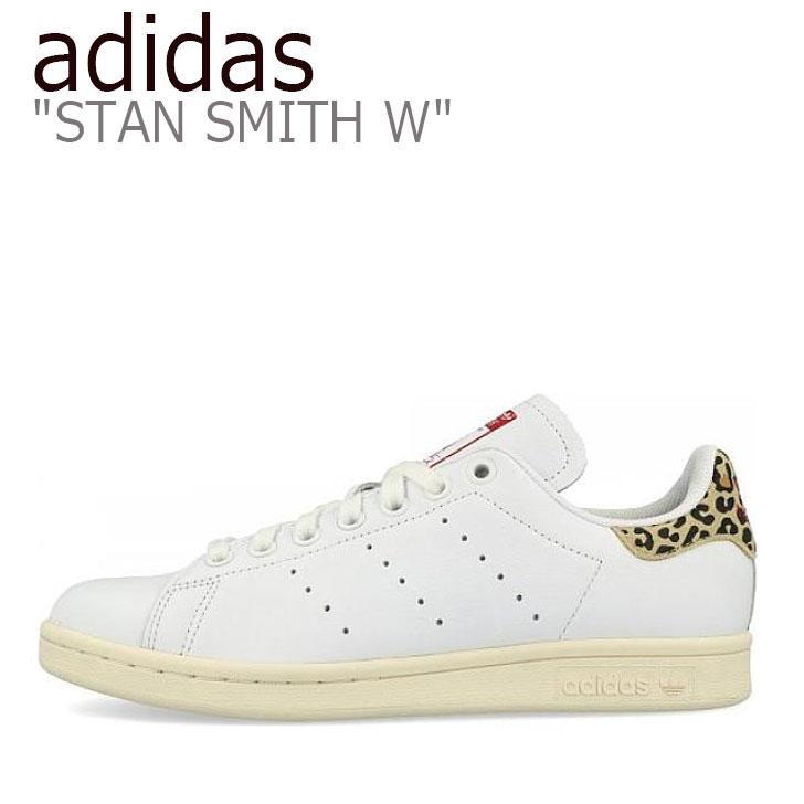 アディダス スタンスミス スニーカー adidas メンズ レディース STAN SMITH W スタン スミス WHITE ホワイト FV8080 シューズ 【中古】未使用品