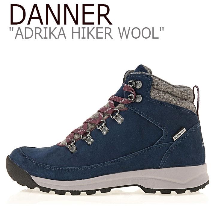 ダナー スニーカー DANNER レディース ADRIKA HIKER WOOL アドリカ ハイカー ウール NAVY ネイビー 30320 シューズ