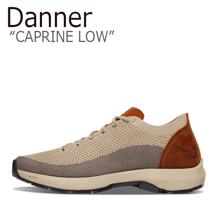 ダナー スニーカー DANNER メンズ CAPRINE LOW カプリーン ロウ TAUPE トープ GLAZED GINGER グレイズド ジンジャー 31321 シューズ