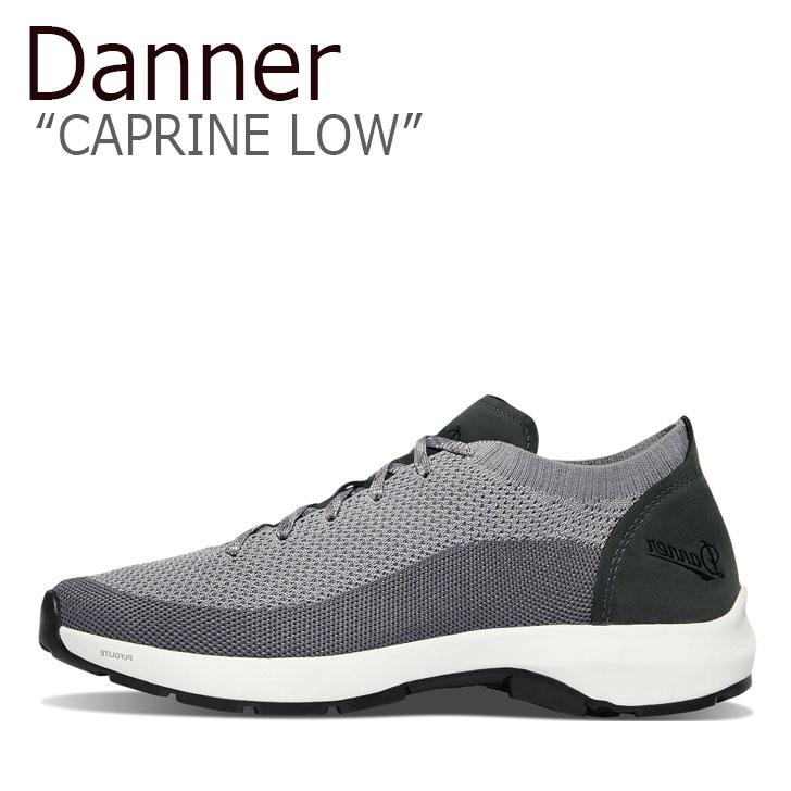 ダナー スニーカー DANNER メンズ CAPRINE LOW カプリーン ロウ GRAY グレー 31323 シューズ