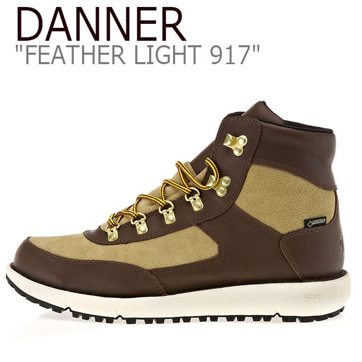 ダナー スニーカー DANNER メンズ FEATHER LIGHT 917 フェザー ライト917 BROWN ブラウン 34450 シューズ