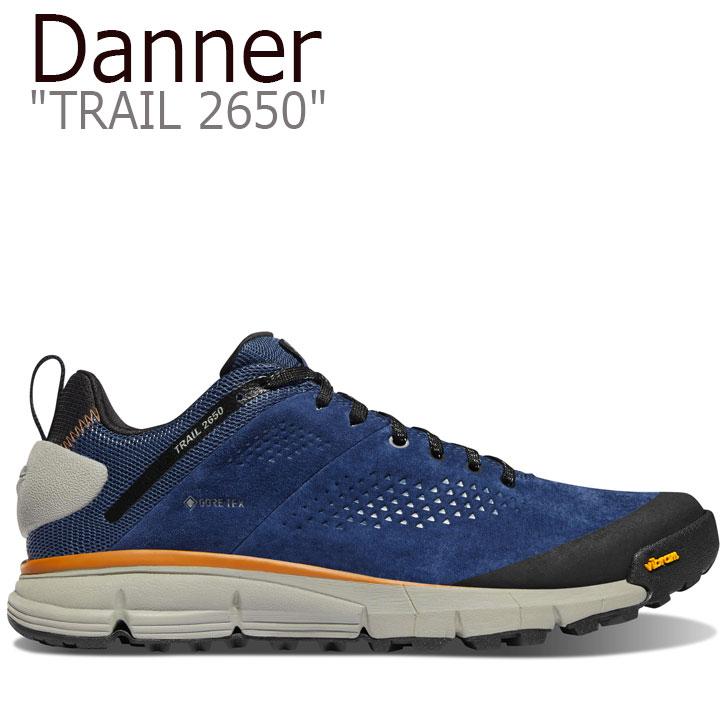 ダナー スニーカー DANNER メンズ TRAIL 2650 トレイル2650 DENIM BLUE デニム ブルー 61201 シューズ