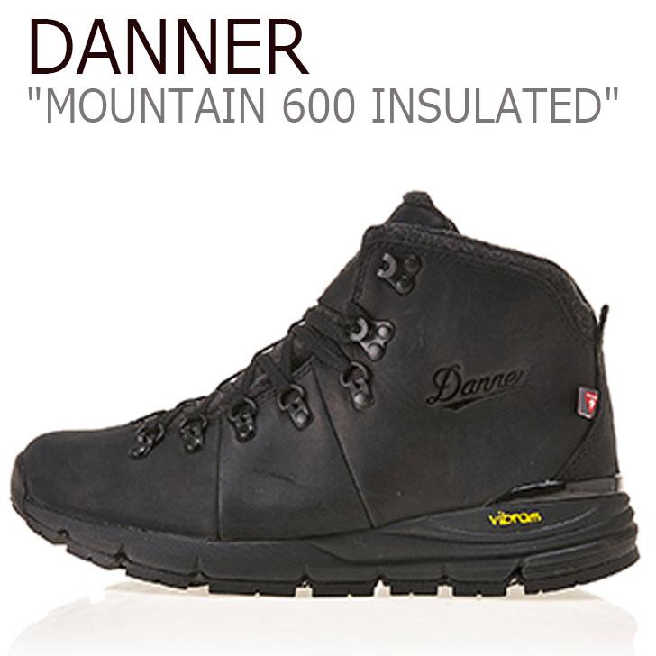 ダナー スニーカー DANNER メンズ MOUNTAIN 600 INSULATED マウンテン 600 インシュレイティッド JETBLACK ジェットブラック 62145 シューズ