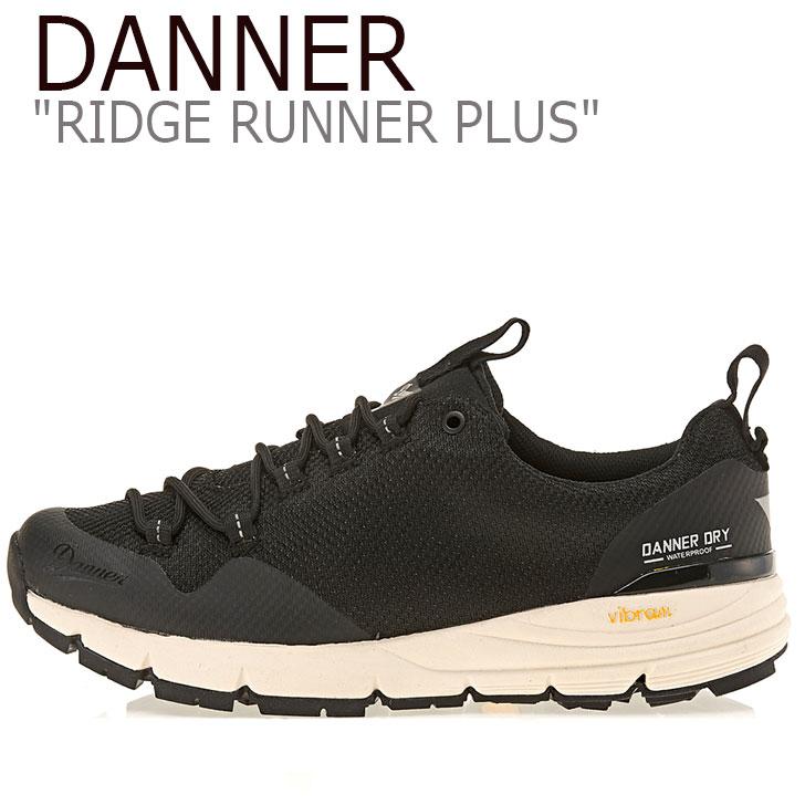 ダナー スニーカー DANNER メンズ レディース RIDGE RUNNER PLUS リッジ ランナー プラス BLACK ブラック D123265 シューズ