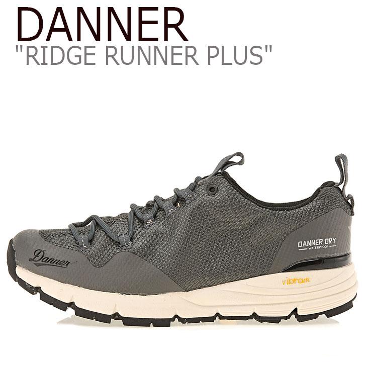 ダナー スニーカー DANNER メンズ レディース RIDGE RUNNER PLUS リッジ ランナー プラス CHARCOAL チャコール D123265 シューズ