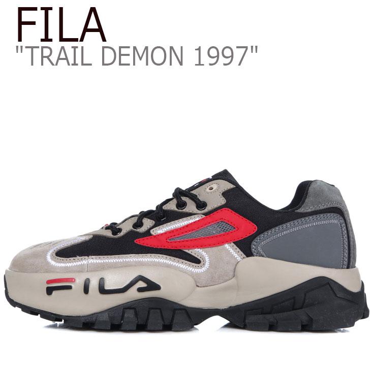 フィラ スニーカー FILA メンズ レディース TRAIL DEMON 1997 トレイル デーモン1997 GRAY グレー 1JM00796-073 シューズ