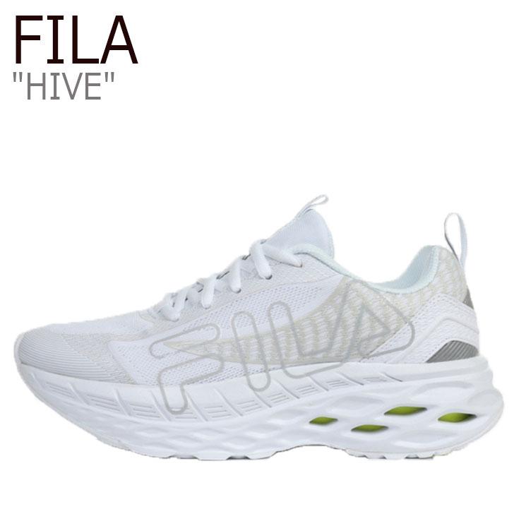 フィラ スニーカー FILA メンズ レディース HIVE ハイブ WHITE ホワイト 1RM01251-100 シューズ