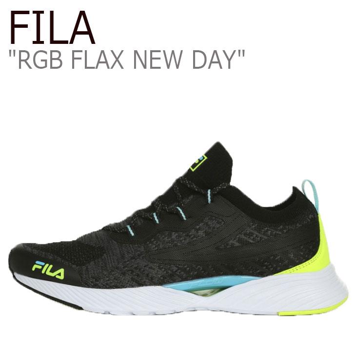フィラ スニーカー FILA メンズ レディース RGB FLAX NEW DAY RGB フラックス ニューデイ BLACK ブラック 1RM01252-401 シューズ