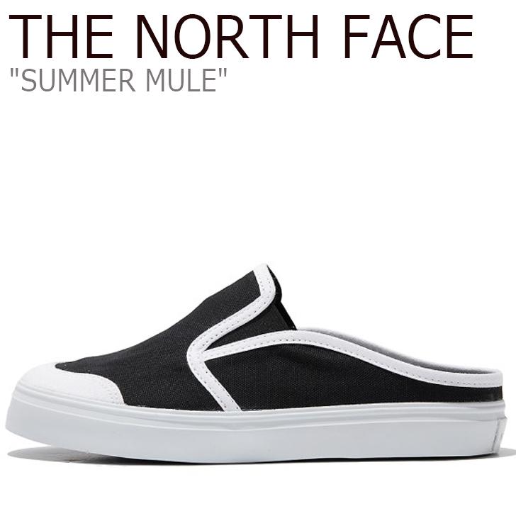 ノースフェイス スニーカー THE NORTH FACE メンズ レディース SUMMER MULE サマー ミュール BLACK ブラック NS98L05J シューズ