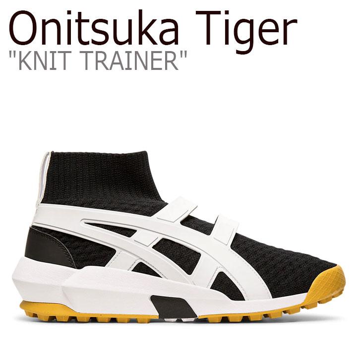 オニツカタイガー スニーカー Onitsuka Tiger メンズ レディース KNIT TRAINER ニットトレーナー BLACK ブラック WHITE ホワイト 1183A418-001 シューズ