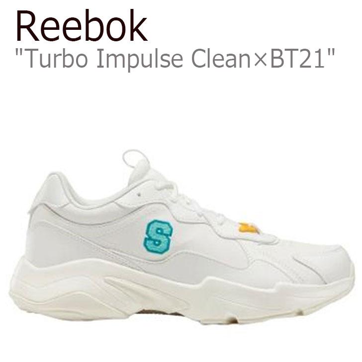 リーボック スニーカー REEBOK メンズ レディース TURBO IMPULSE CLEAN ターボ インパルス クリーン X BT21 SHOOKY シューキー WHITE ホワイト ORANGE オレンジ FW5220 シューズ