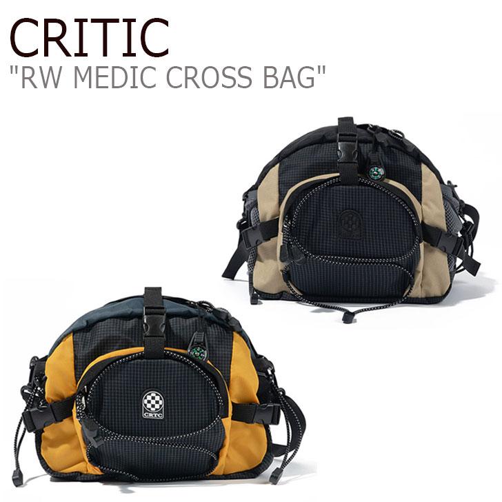 クリティック ボディーバッグ CRITIC メンズ レディース RW MEDIC CROSS BAG メディック クロスバッグ BEIGE ベージュ YELLOW イエロー CTTZPBG03UE3/Y0 バッグ