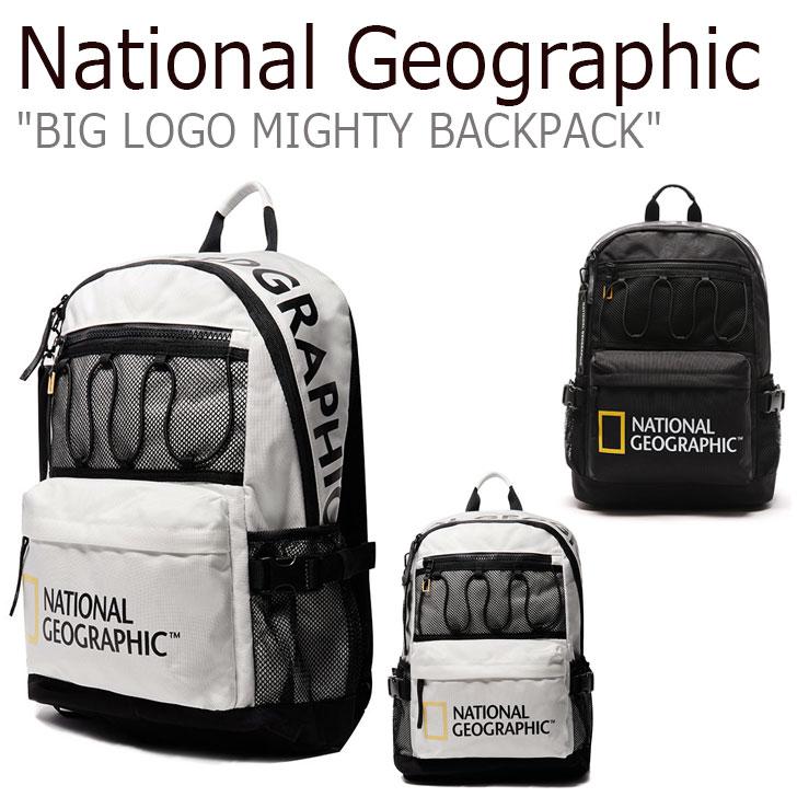 ナショナルジオグラフィック リュック NATIONAL GEOGRAPHIC メンズ レディース BIG LOGO MIGHTY BACKPACK ビッグ ロゴ マイティ バックパック 全2色 N195ABG320 1052616 バッグ
