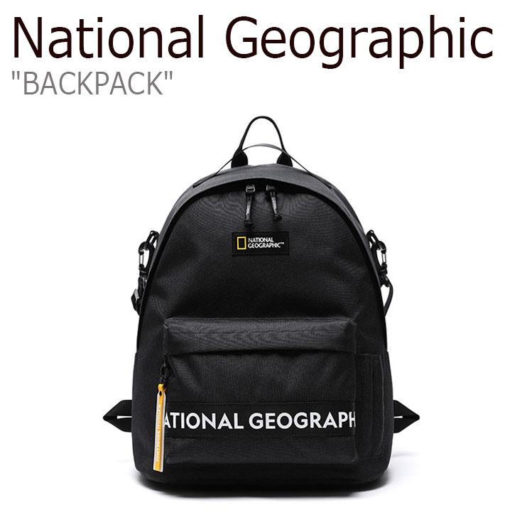 ナショナルジオグラフィック リュック NATIONAL GEOGRAPHIC メンズ レディース BACKPACK バックパック BLACK ブラック N205ABG040 1156536 バッグ