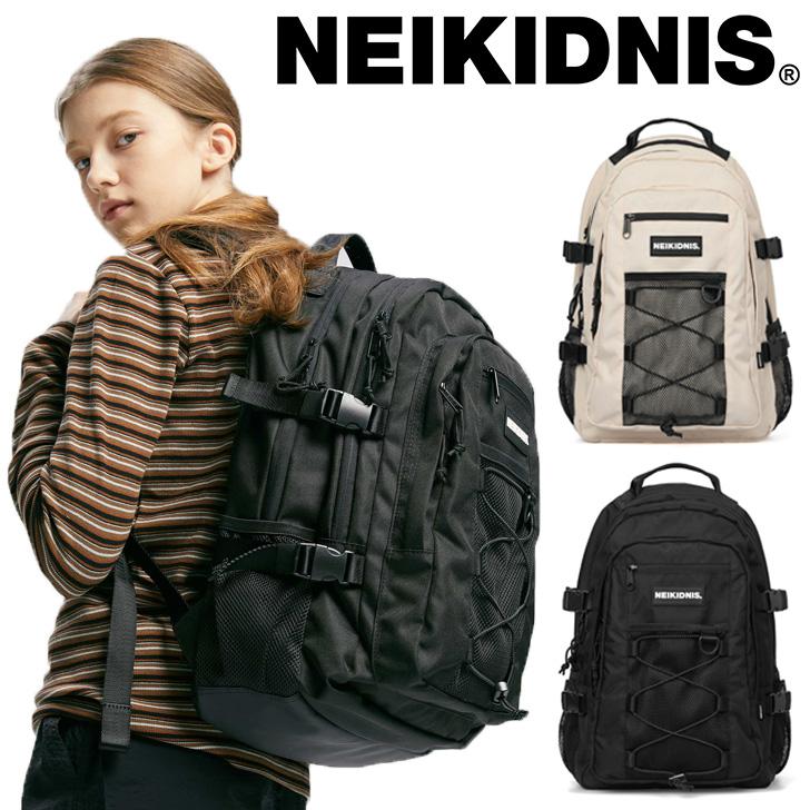 ネイキドニス リュック NEIKIDNIS メンズ レディース MESH STRING BACKPACK メッシュ ストリング バックパック BLACK ブラック LIGHT ライト BEIGE ベージュ NBP005-101/240 バッグ