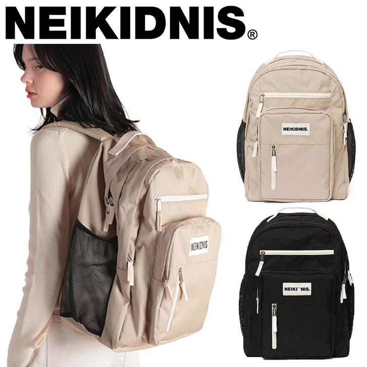 ネイキドニス リュック NEIKIDNIS メンズ レディース TRAVEL BACKPACK トラベル バックパック BLACK ブラック BEIGE ベージュ INDI インディ PINK ピンク 015TRB02/03/04 バッグ