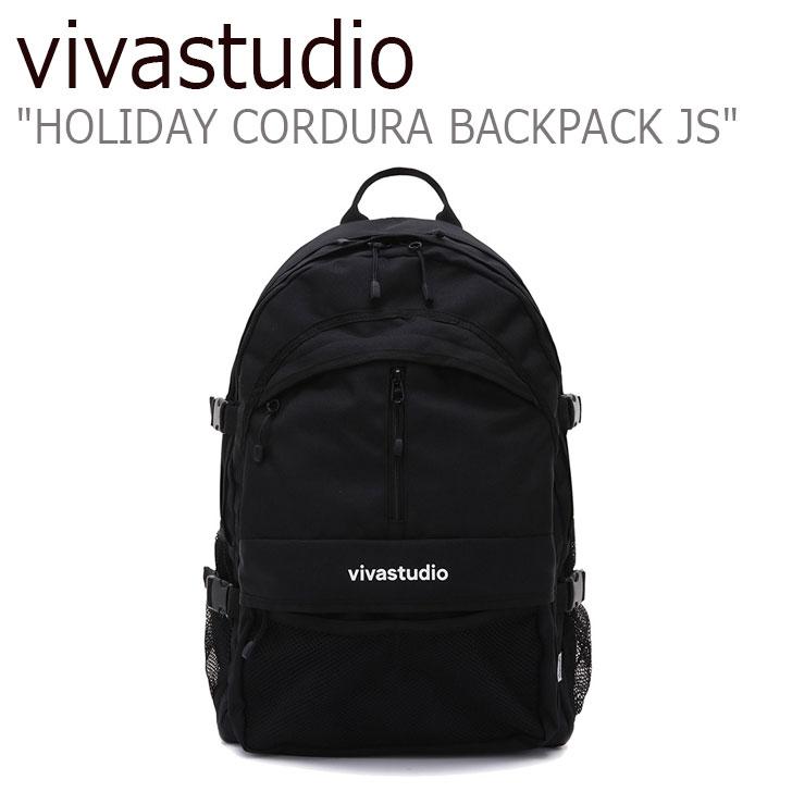 ビバスタジオ リュック vivastudio メンズ レディース HOLIDAY CORDURA BACKPACK JS ホリデー コーデュラ バックパック BLACK ブラック JSVA03 バッグ